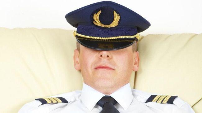 Jangan Kaget saat Melihat Pilot Tidur dalam Penerbangan