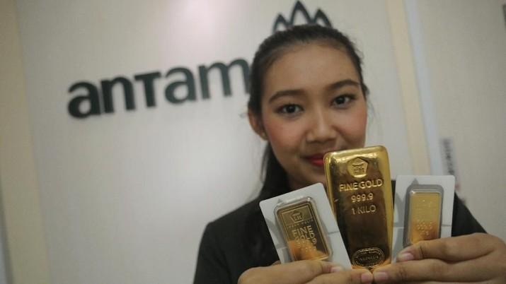 Korban Corona Bertambah, Harga Emas Antam Naik Rp 3.000/gram