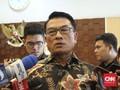 Moeldoko Bagi-bagi Buku Saku Capaian Empat Tahun Jokowi