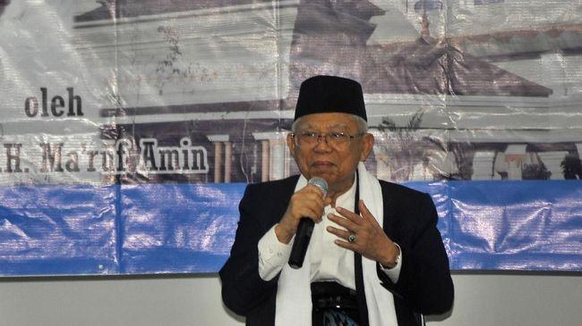 Bukan hanya meminta masyarakat jauhi politik uang, Wapres Ma'ruf Amin juga meminta kontestan Pilkada 2020 mencontoh kisah Nabi Yusuf.