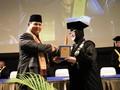Prabowo Subianto Salah Masuk Acara Wisuda di Bandung