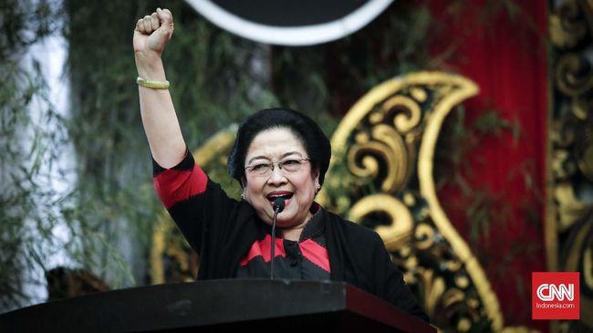 Saat berpidato di Kongres Luar Biasa Gerindra, Ketum PDIP Megawati Soekarnoputri yakin Gerindra akan terus berjuang demi memajukan negara.