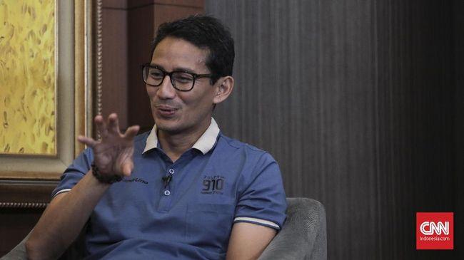 Calon wakil presiden nomor urut 02 Sandiaga Uno mengklaim pembangunan Joko Widodo belum dirasakan merata oleh masyarakat.
