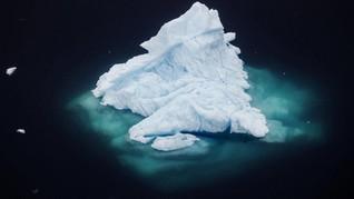 FOTO: Runtuhnya Gletser Greenland