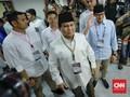 Lagu 2019 Ganti Presiden Iringi Prabowo Tinggalkan KPU