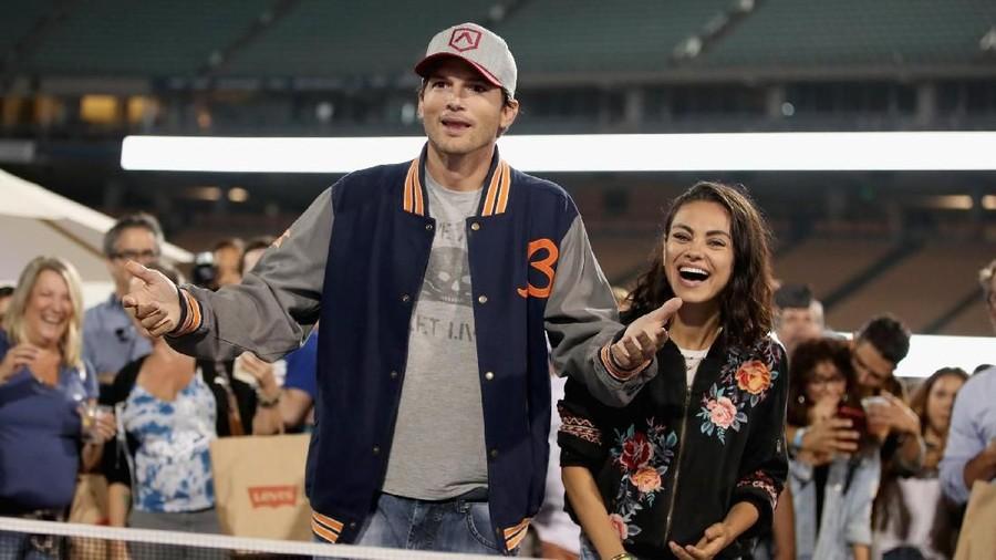 Ini Quality Time Ashton Kutcher dan Mila Kunis
