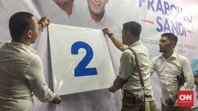 Pendukung pasangan Prabowo Subianto-Sandiaga Uno menghubungkan nomor urut 2 pada Pilpres 2019 dengan dua kalimat syahadat.