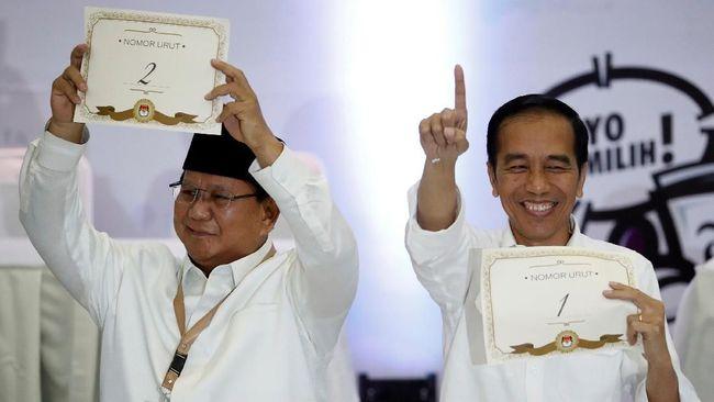 Jokowi-Ma'ruf Nomor 1, Prabowo-Sandi Nomor 2