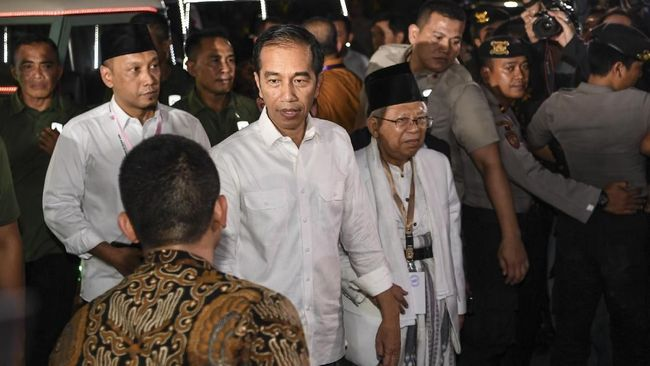 TKN tak bisa menjamin Jokowi dan Ma'ruf tidak akan menyinggung dugaan keterlibatan Prabowo dengan pelanggaran HAM masa lalu.