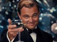 Bertabur Bintang, Ultah Ke-44 Leonardo Dicaprio Bak 'the Great Gatsby'