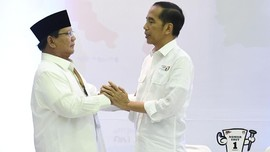 FOTO: Momen Jokowi dan Prabowo Ambil Nomor Urut Pilpres 2019