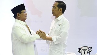 Selisih Tipis, Prabowo Rebut Kemenangan Jokowi di Bengkulu