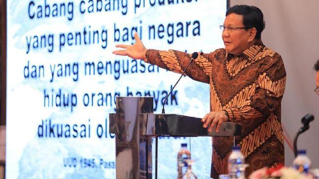 Calon presiden 2019 Prabowo Subianto khawatir dengan kemampuan pertahanan Indonesia yang hanya sanggup bertempur tiga hari jika berperang.