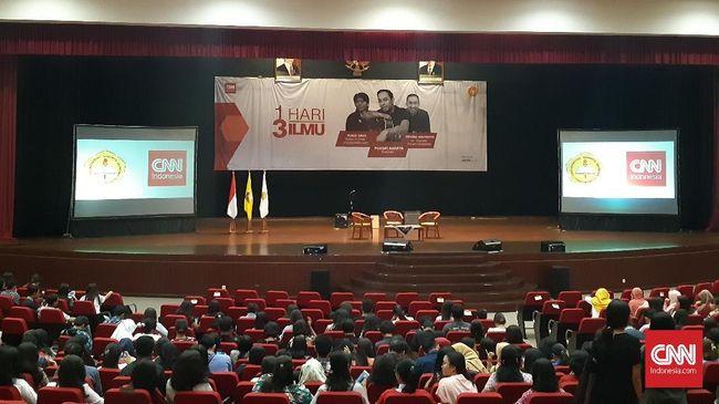 Acara inspiratif CNNIndonesia.com digelar hari ini, Sabtu (22/9) di  Univeritas Sanata Dharma Yogyakarta.