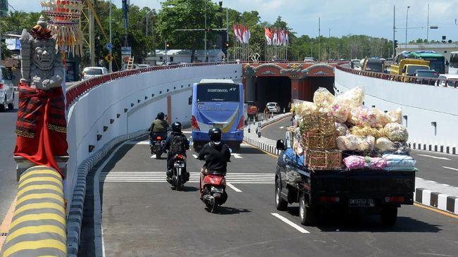 Simpang Tugu Ngurah Rai sebelumnya merupakan salah satu kawasan paling macet di Bali.