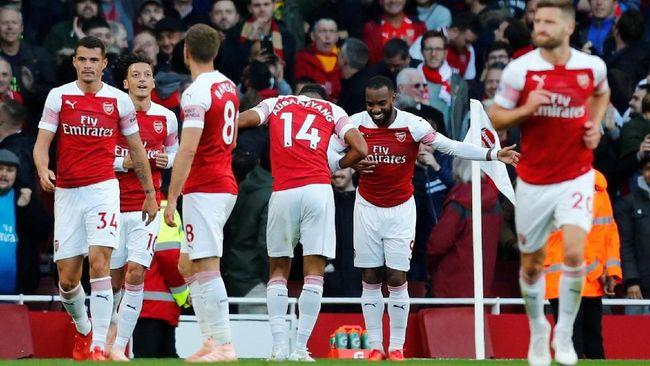 Arsenal akan menjami Liverpool dalam laga Liga Inggris Melihat duel sebelumnya, maka duel ini punya potensi untuk kembali banjir gol.
