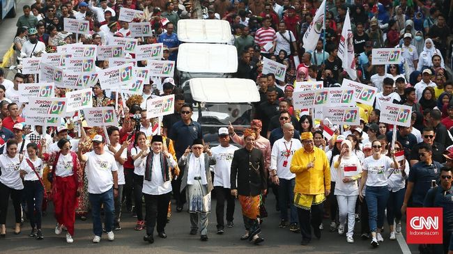 GK Pengusaha mendeklarasikan dukungannya untuk pasangan capres cawapres Jokowi-Ma'ruf pada Pilpres 2019.