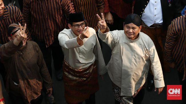 Menurut Sekretaris Jenderal Partai Berkarya, Priyo Budi Santoso, pasangan Prabowo-Sandiaga akan mengembalikan kondisi Indonesia seperti rezim Presiden Soeharto.