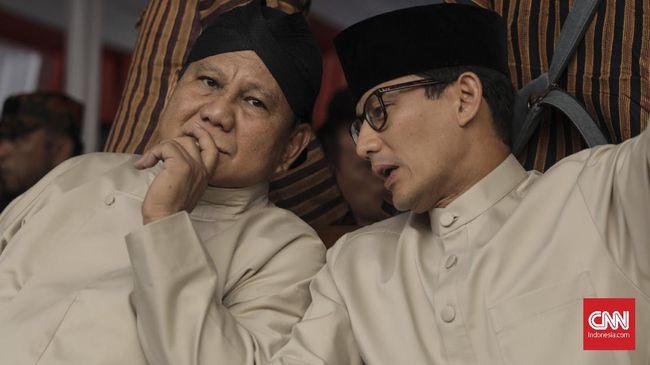 Sandiaga Uno bersama pasangannya Prabowo Subianto mempertimbangkan hadir dalam Reuni Alumni 212 jika memungkinkan dengan jadwal kampanye keduanya.