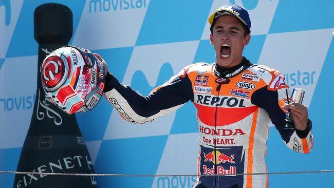 Juara dunia MotoGP 2018 Marc Marquez mengaku tidak memiliki surat izin mengemudi (SIM) kendaraan roda dua.