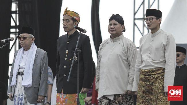 LSI Denny JA menilai kubu Prabowo-Sandiaga kan sulit mendapatkan suara dari Nahdlatul Ulama (NU) dalam pilpres 2019.
