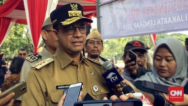 Anies Baswedan mengatakan Pemprov DKI akan menyiapkan jaringan rute Jak Lingko agar menjangkau kawasan rusunawi Samawa.