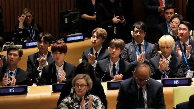 UNICEF menilai inspirasi dari BTS memiliki kesamaan dengan kampanye dari badan dunia anak-anak tersebut sehingga membuat mereka terpilih berpidato di PBB.