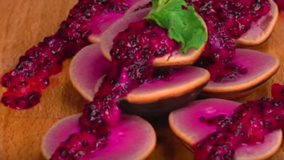 Resep Kue Cubit Buah Naga, Jajanan Sehat dengan Warna Cantik