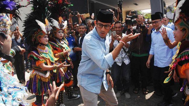 Sandiaga Uno optimis bahwa dirinya dan Prabowo bisa kembali unggul dalam perolehan suara di banten meski pihak lawan merupakan tokoh berpengaruh di wilayah itu.