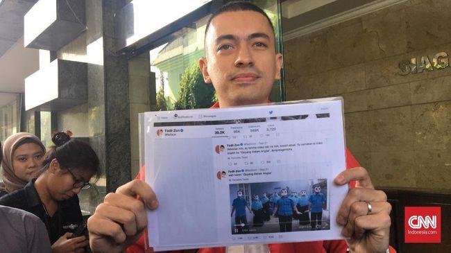 Rian mengatakan video yang disebar oleh Wakil Ketua DPR Fadli Zon di Twitter resminya @fadlizon bisa saja merugikan banyak pihak.