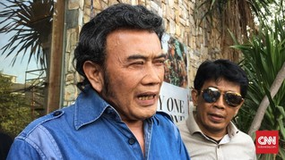 Rhoma Irama Kaget Ridho Ditangkap Lagi karena Narkoba