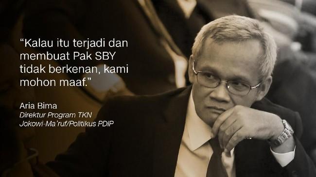 SBY memilih walkout saat deklarasi kampanye damai oleh KPU di Monas, Minggu (23/9) karena merasa diprovokasi oleh pendukung Jokowi.