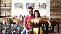 Ini Malea bersama sang ayah. (Foto: Instagram/armantjandrawidjaja)