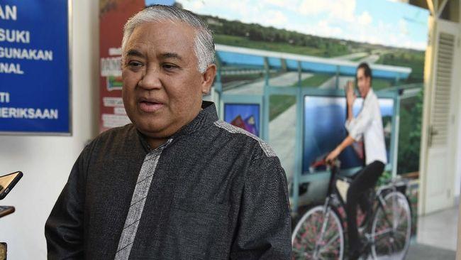 Presidium KAMI Din Syamsuddin menilai pengesahan UU Omnibus Law Ciptaker berpotensi menimbulkan kegaduhan nasional.