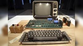 Dilelang, Komputer Generasi Pertama Apple-1 Laku Rp5,5 Miliar