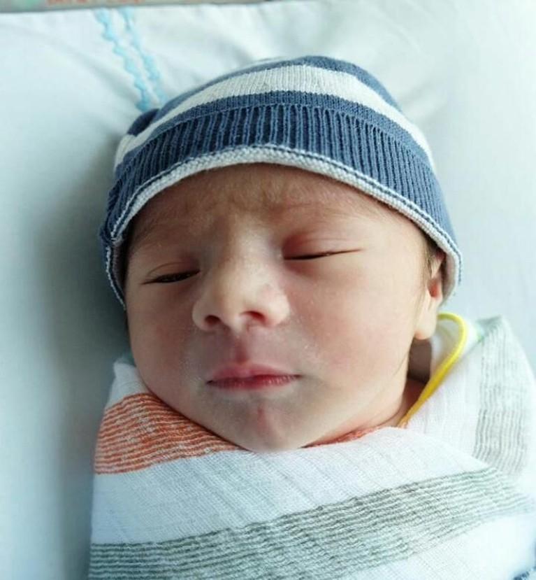 Carissa Puteri melahirkan putra keduanya pada 25 September 2018. Bayi mungil ini diberi nama Zenecka Acana Naif.