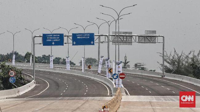Jalan Tol Depok-Antasari (Desari) siap diresmikan. Rencananya, peresmian akan dilaksanakan langsung oleh Presiden Joko Widodo pada hari Kamis, 27 September 2018, pukul 16:00 WIB. CNN Indonesia/Andry Novelino
