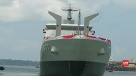 VIDEO: Kehebatan KRI Bontang, Kapal Buatan Anak Bangsa.