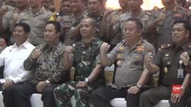 VIDEO: TNI dan Polri Jawa Timur Deklarasi Kampanye Damai