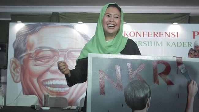 Alissa Wahid bicara panjang lebar mengenai gerakan politik yang dibawa adiknya, Yenny Wahid dalam dukungannya di Pilpres 2019 tak bisa diatasnamakan Gusdurian.
