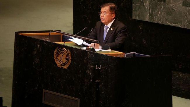 Wakil Presiden Jusuf Kalla (JK) bertolak ke Buenos Aires, Argentina, untuk menghadiri pertemuan G20. Topik utama yang dibahas adlah perang dagang AS dan China.