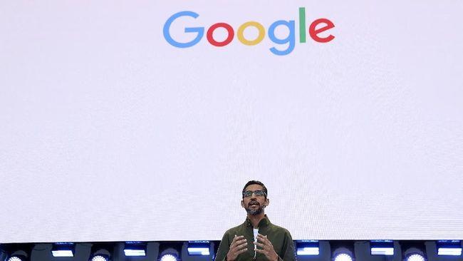 Sundah Pichai ditunjuk jadi bos induk perusahaan Google, Alphabet, dan ia digaji Rp28 M.