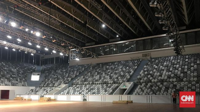 Venue baru untuk Piala Dunia Bola Basket 2023 nantinya akan berkapasitas 15.000 hingga 20.000 tempat duduk.