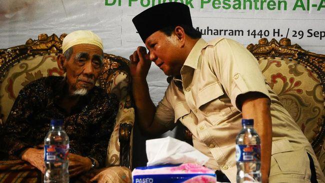 Koalisi Jokowi-Ma'ruf meyakini suara NU tak akan goyah meski Prabowo Subianto mengunjungi ulama sepuh NU Kiai Maimoen Zubair.