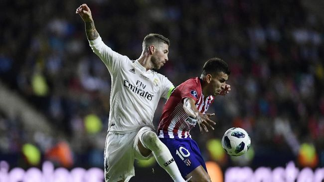 Real Madrid akan menghadapi Atletico Madrid dalam laga bertajuk El Derbi Madrileno pada final Piala Super Spanyol.