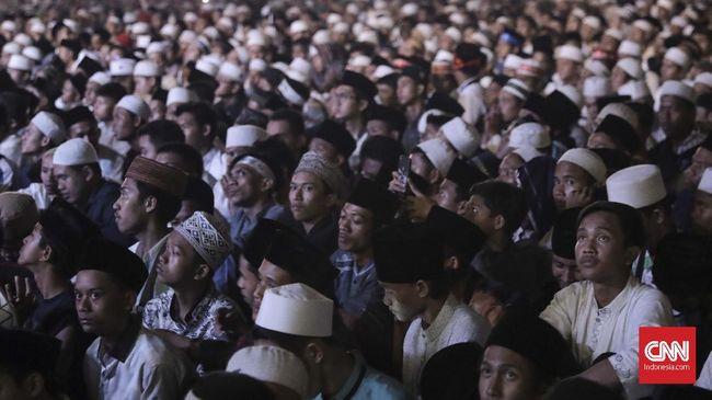Rizieq Ajak Nobar PKI, Sebagian Jemaah Memilih Pulang