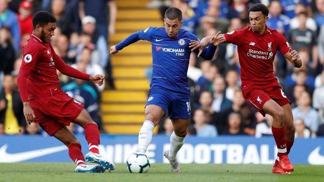 Legenda Liga Inggris, Paul Merson, memprediksi Liverpool bakal sukses mengalahkan Chelsea 2-1 pada lanjutan Liga Primer Inggris di Anfield, Minggu (14/4).