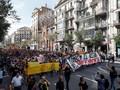 Peringati Referendum, Pendukung Kemerdekaan Catalonia Demo