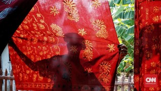 Ekspor Batik RI Cuma US$18 Juta per Juni 2019
