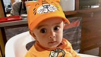 <p>Sehat selalu ya Baby Zavier. (Foto: Instagram @sonyafatmala)</p>